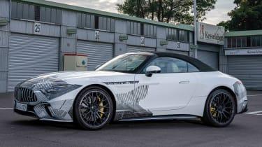 Mercedes SL Prototype – side