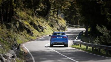 Jaguar F-Pace SVR 2021 rear action