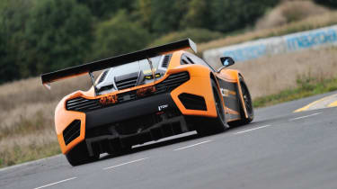 McLaren 12C Can-Am review on track