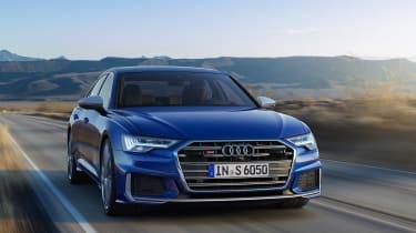 Audi S6 saloon - front quarter