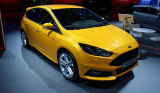 Ford Focus ST at the Paris motor show