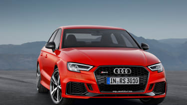 2017 Audi RS3 saloon - front