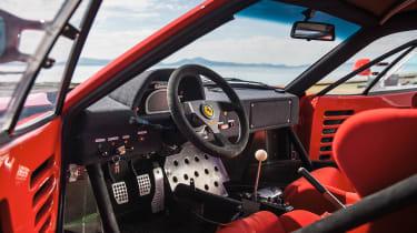 Ferrari F40 LM - interior