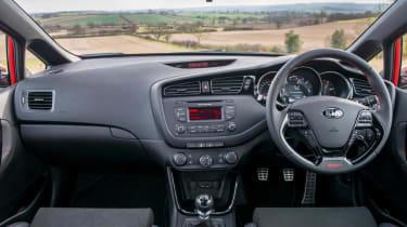 Kia Ceed GT five-door interior dashboard
