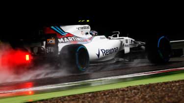 Formula One Round 13 - Williams wet