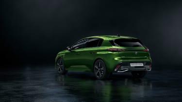 2021 Peugeot 308 - rear quarter