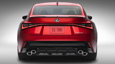 Lexus IS500 F Sport - rear