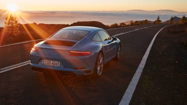 Porsche 911 Carrera S 991.2 - rear mood