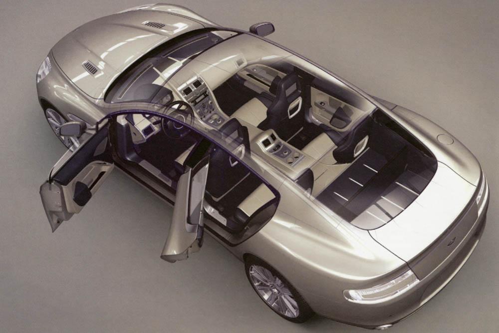 Aston Martin Rapide Interior Evo