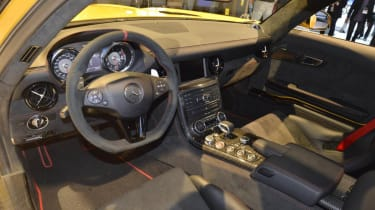 Mercedes SLS AMG Black