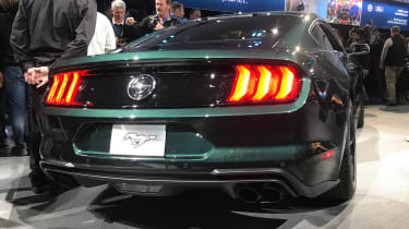 Ford Mustang Bullitt – rear