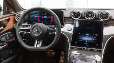 2021 Mercedes C-class revealed - interior