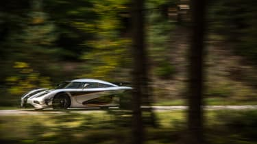 Koenigsegg One:1 - driving profile