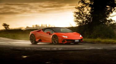 Lamborghini Huracán Evo Spyder – cornering