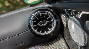 Mercedes-Benz E400 4Matic Cabriolet - Air vent