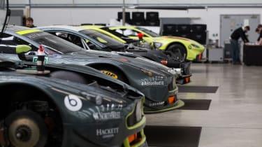 Aston Martin racing – Prodrive factory