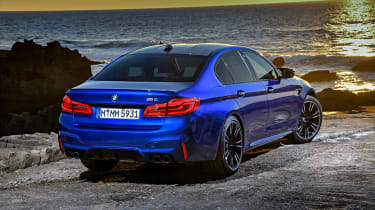 BMW M5 review - static rear