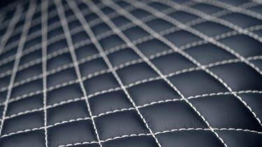 Aston Martin Vanquish S - quilted seat