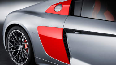 Audi R8 Audi Sport Edition - side detail