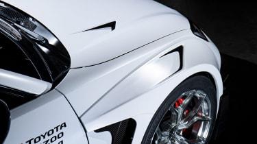 Toyota GR 86 Gazoo Concept – fenders