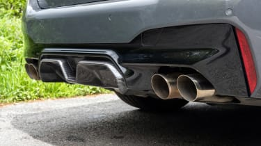 BMW M5 CS – exhausts