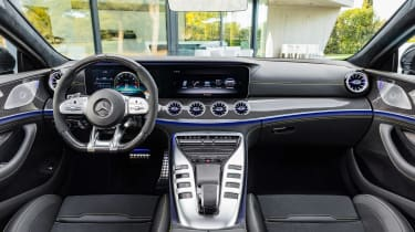 Mercedes-AMG GT 63 S - console