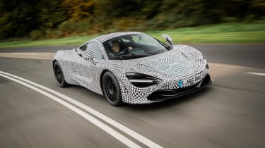 McLaren BP23 test car