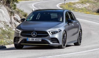 Mercedes A-class - turning