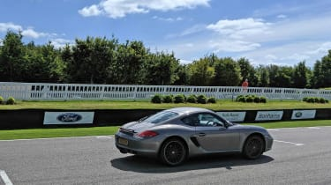 Goodwood track day 2019 - Cayman