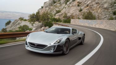 Rimac Concept One - front