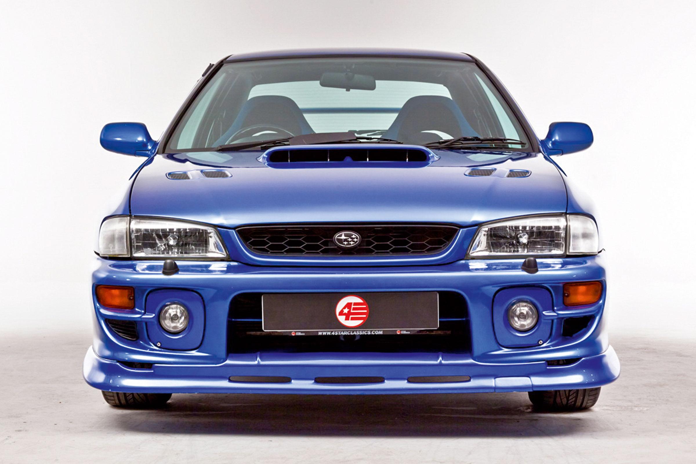 Subaru Impreza special editions Mk1 and Mk2 - 22B, RB5, P1