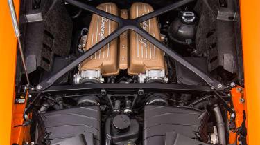 Lamborghini Huracan Performante – engine bay