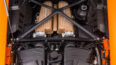 Lamborghini Huracan Performante – engine bay