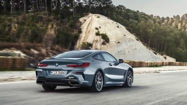BMW M850i revealed - rear quarter