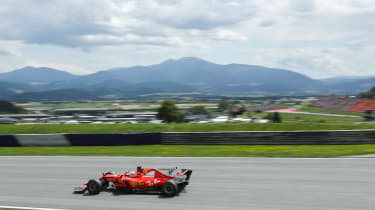 Formula One Round 9 AUT - Ferrari