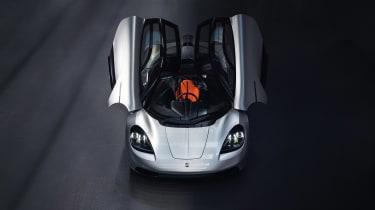 GMA T.50 pro - doors open