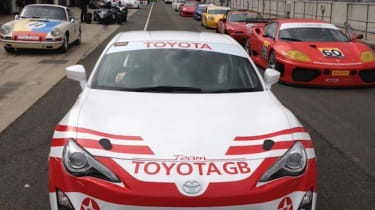 Evo to drive Toyota Team GB GT86 in Silverstone 24-hours