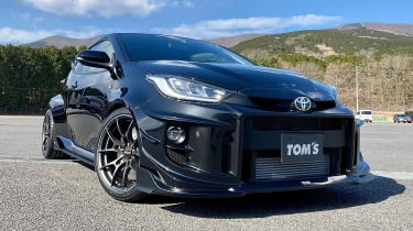 TOM'S Racing Toyota GR Yaris front