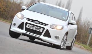 Ford Focus Zetec S front cornering