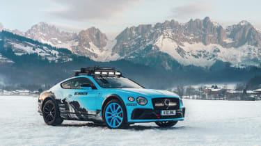 Pirelli winter tyres campaign - Bentley