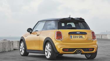 New 2014 Mini Cooper S yellow