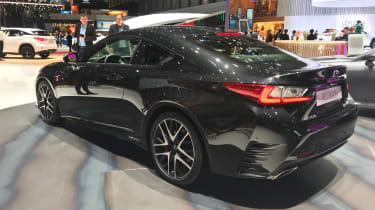 Lexus RC300h F Sport Black Edition – rear quarter