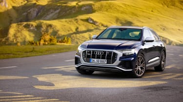 Audi SQ8 TDI review - static