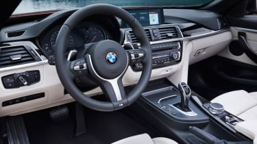 2017 BMW 4 Series Convertible - Interior