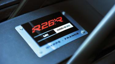 Renaultsport Megane R26.R plaque