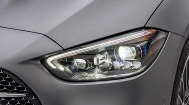 2021 Mercedes C-class revealed - lighting