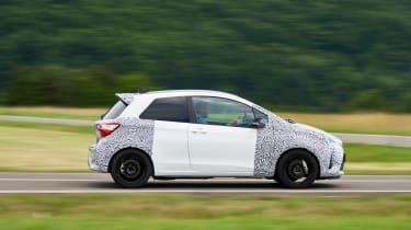 Toyota Yaris GRMN - side profile