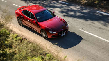 Maserati Ghibli 2016 - red driving