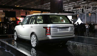Paris motor show: New Range Rover 'will fight Bentley'