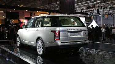 Paris motor show: New Range Rover 'will fight Bentley'